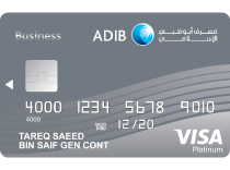 ADIB Business Platinum Covered Card