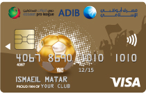 ADIB Football Card